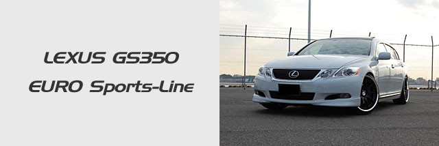 LEXUS GS350 EURO Sports-Line