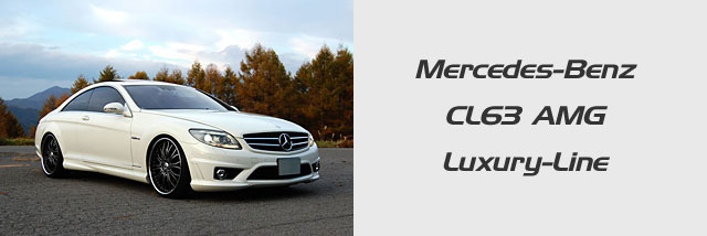 Mercedes-Benz CL63 AMG Luxury-Line